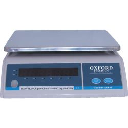 OxfordELECTRONIC WEIGHING SCALE 15KG  2g DIVISIONS