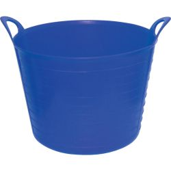 SitesafeFLEXI TUB 42LTR BUILDERS BUCKET BLUE